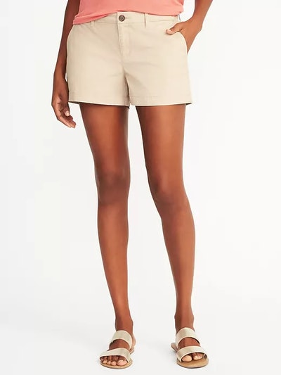 Relaxed Mid-Rise Shorts