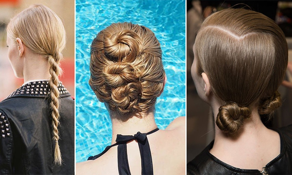 Hair Styles You Can Do For Short Hair: 6 Easy Hairstyles For Wet Hair You Can Do In The Bathroom