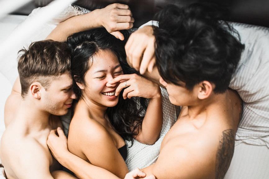 Monogamous couple sex video