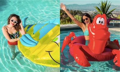 Flounder and Sebastian Pool Floats - Oh My Disney