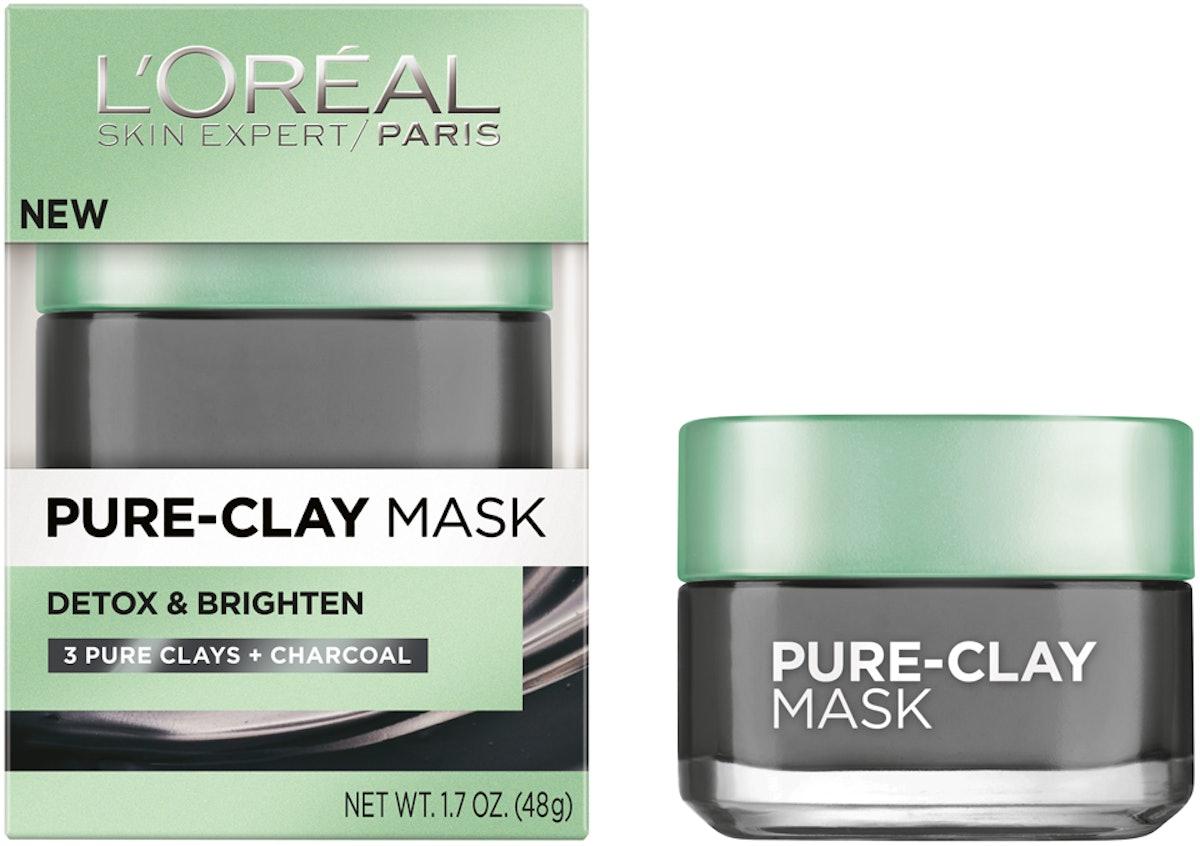 L'Oreal Paris Detox & Brighten Clay Mask