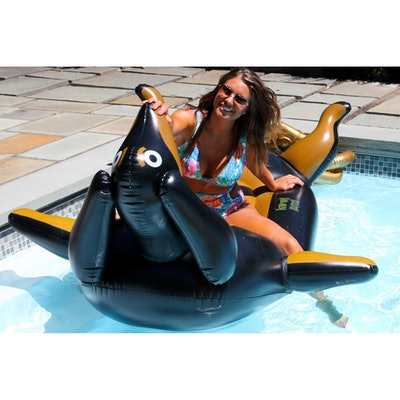 Giant Premium Inflatable Wiener Dog Float Lounger