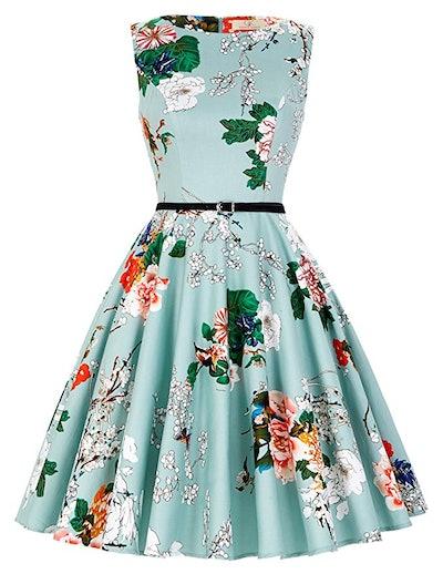 Grace Carin Boat Neck Dress