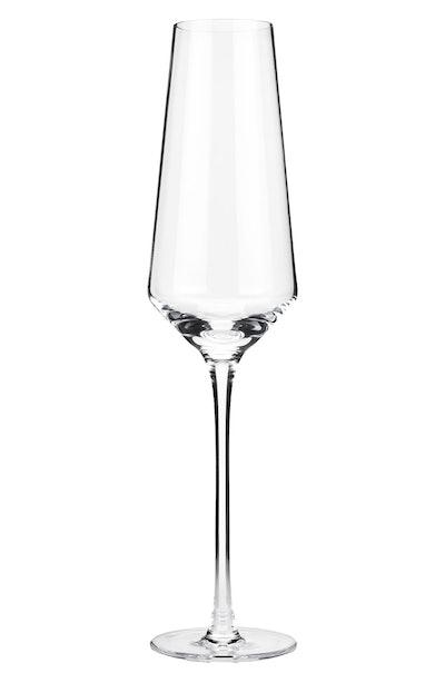 Viski Crystal Champagne Flutes (set of 2)
