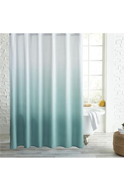 Peri Home Ombré Microsculpt Shower Curtain