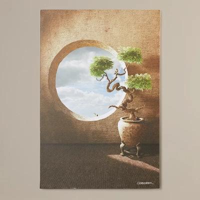 Haiku by Cynthia Decker Framed Photo Graphic Print on Canvas