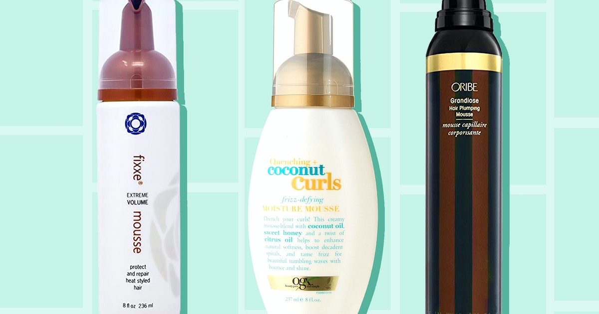 The 4 Best Mousses For Thick Hair