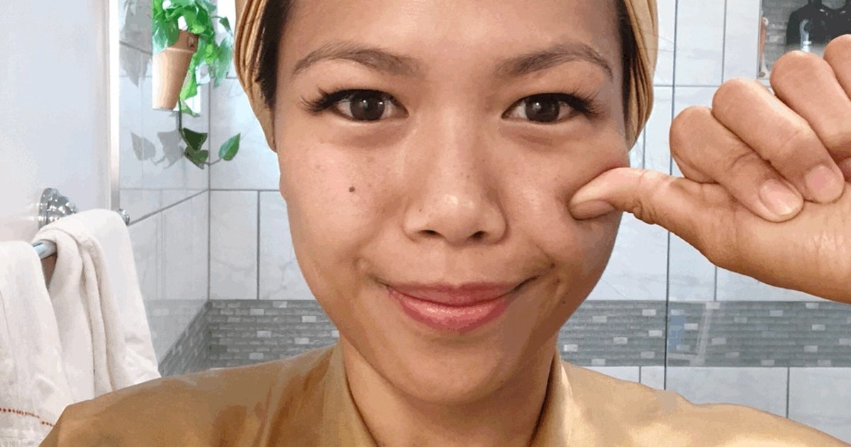This Japanese Facial Massage Will Totally Transform Your Face In One Minute