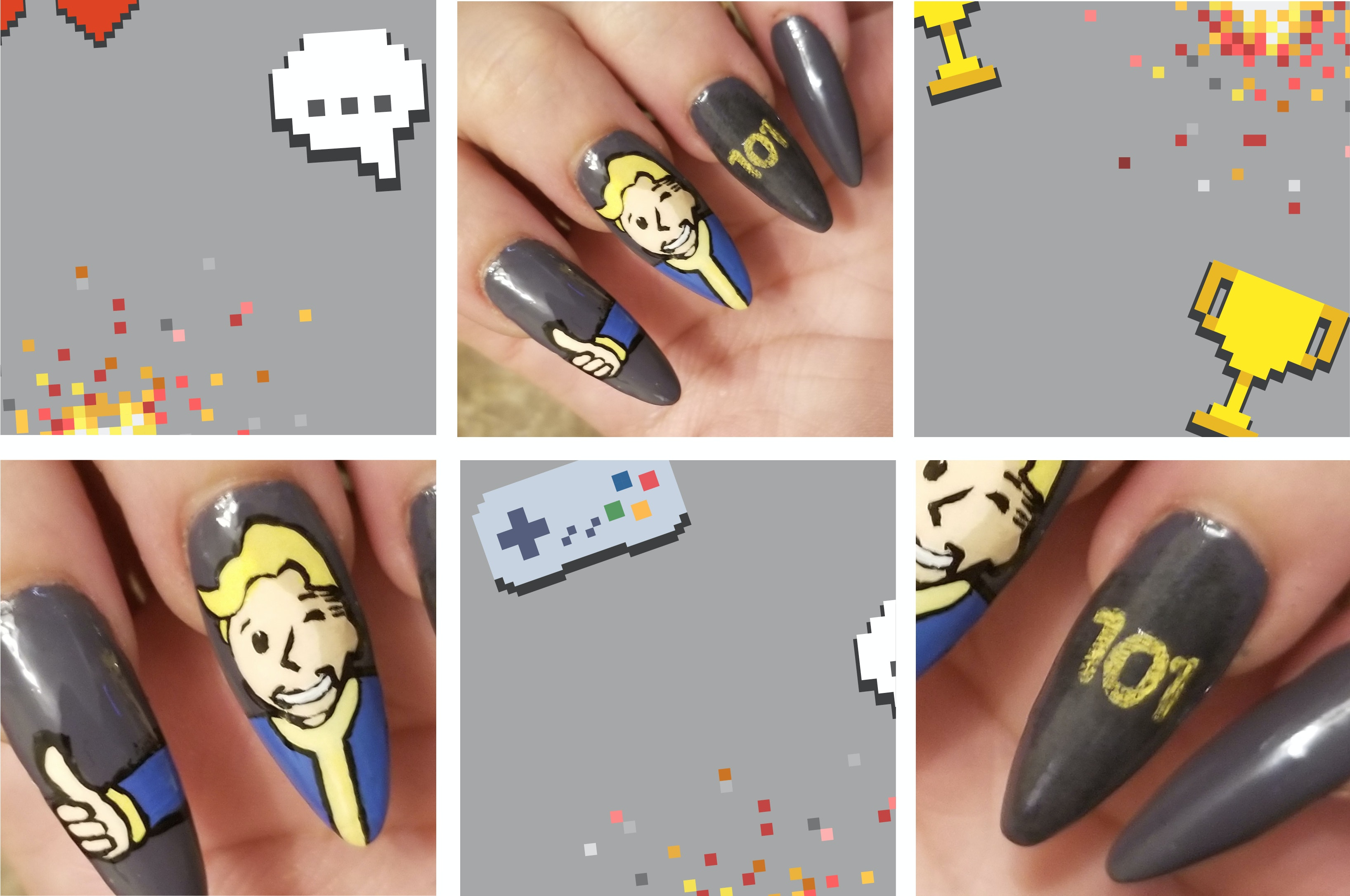 9 Nail Art Ideas Inspired By Some Of The Biggest Fandoms Out