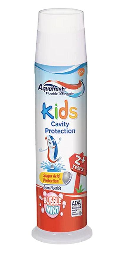 Aquafresh Kids Cavity Protection Fluoride Toothpaste Bubblemint