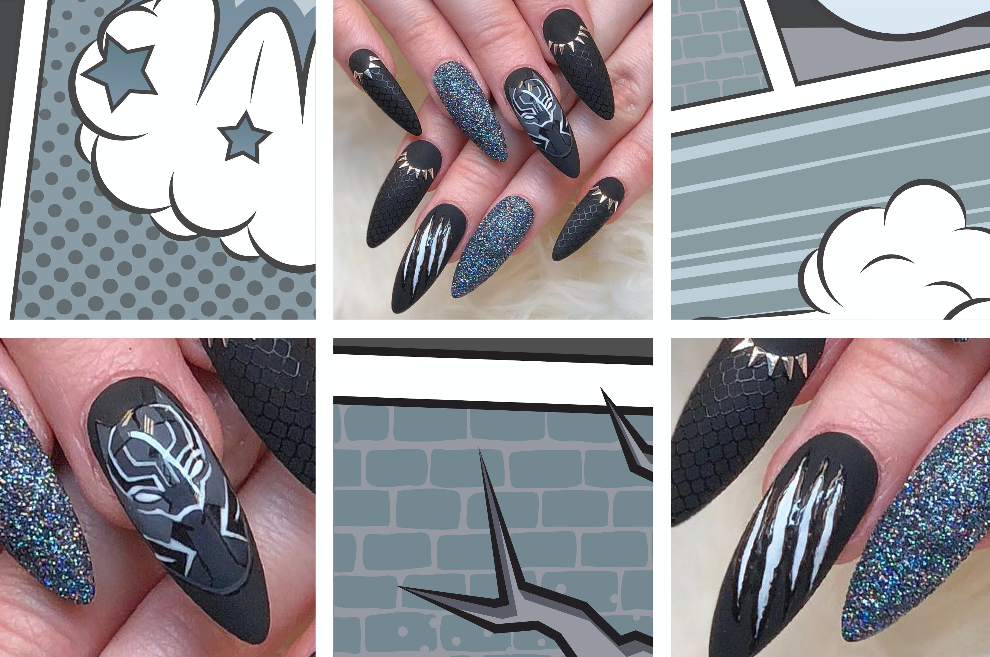 9 Nail Art Ideas Inspired By Some Of The Biggest Fandoms Out There