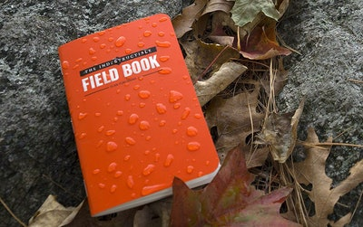 Elan Indestructible, Waterproof, Tear-proof, Weatherproof Field Notebook