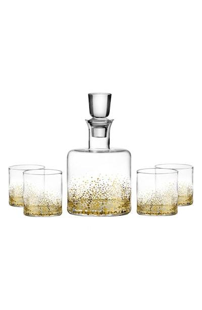 American Atelier 'Daphne' Decanter & Whiskey Glasses
