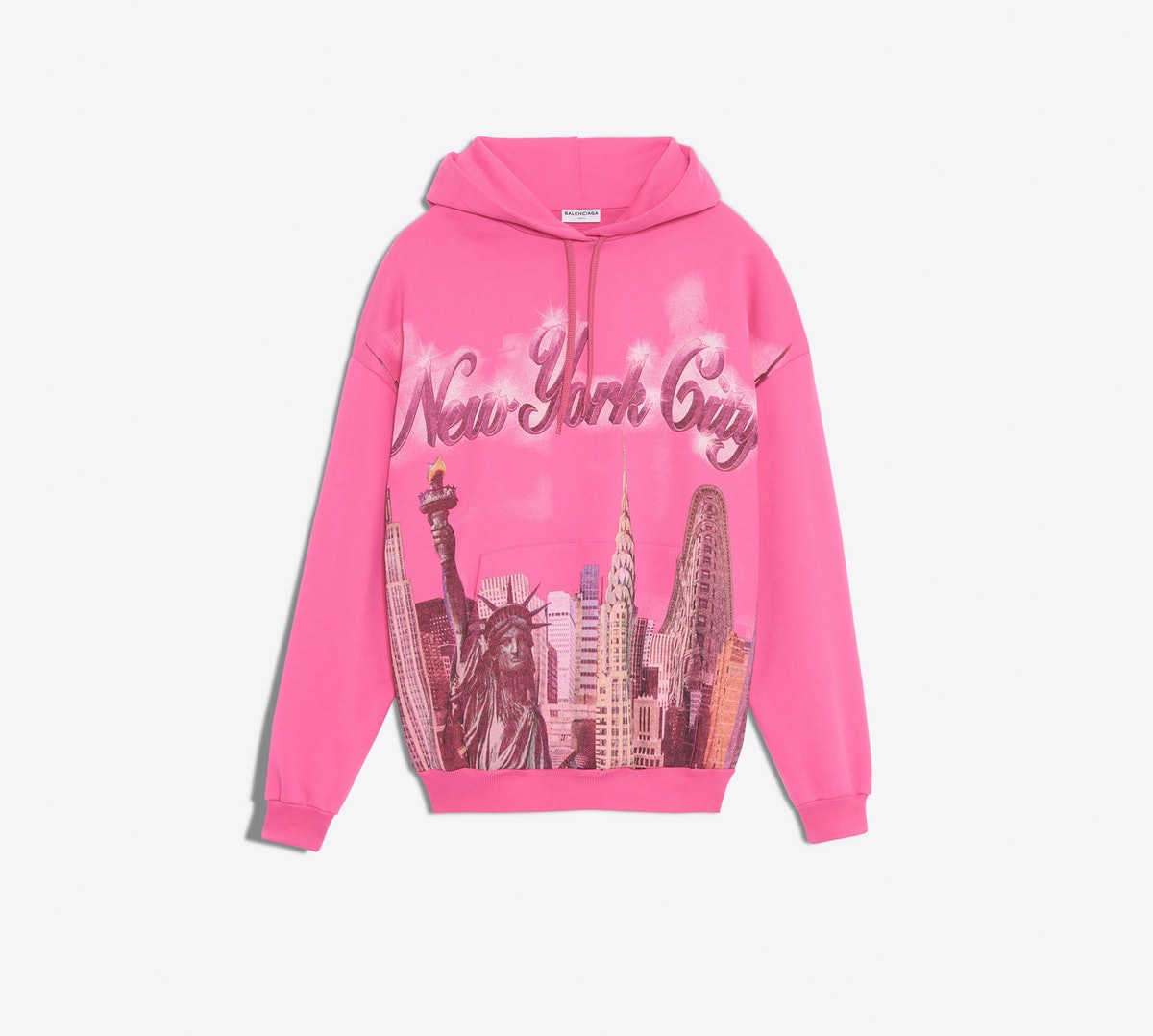 Balenciaga New York Hoodie Sweater