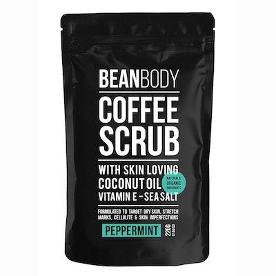 Peppermint Coffee Scrub