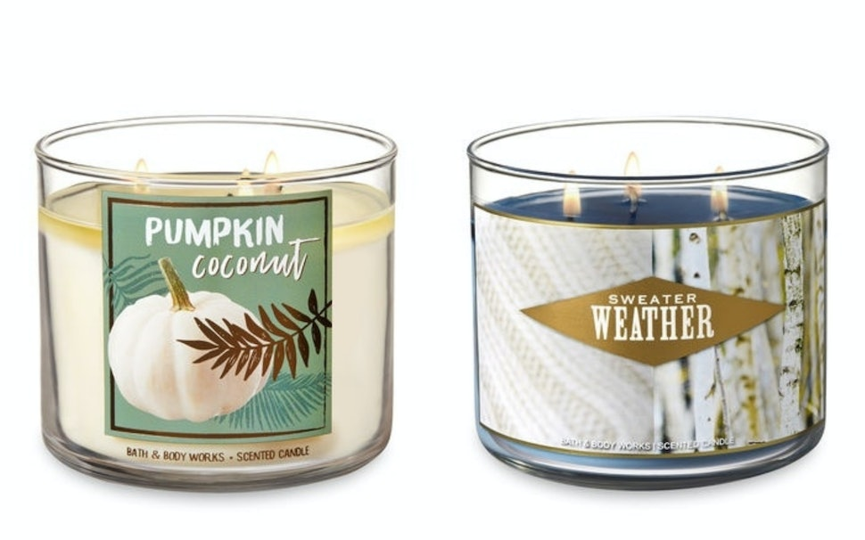 Bath Body Works Fall 2018 Candle Lineup Just Hit Its Website