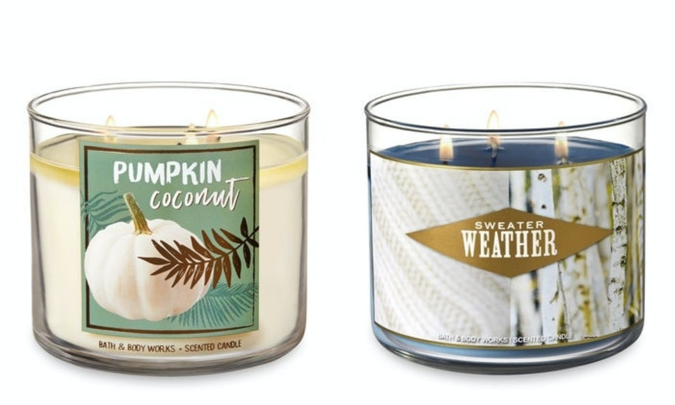 Bath Body Works Fall 2018 Candle Lineup Just Hit Its Website They Are Better Than Ever
