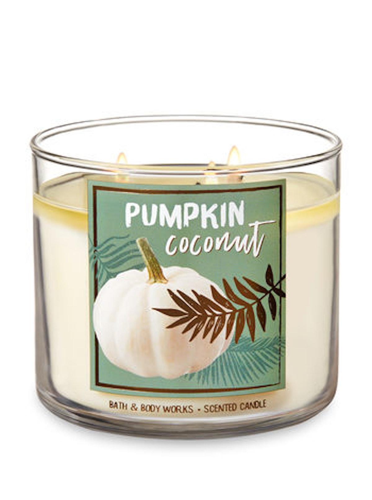 PUMPKIN COCONUT 3-Wick Candle