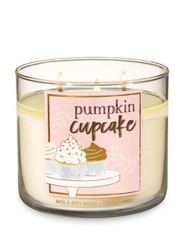 PUMPKIN CUPCAKE  3-Wick Candle