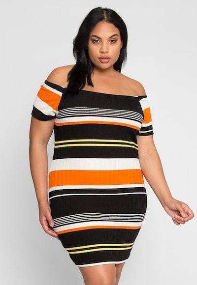 My Night Stripe Dress