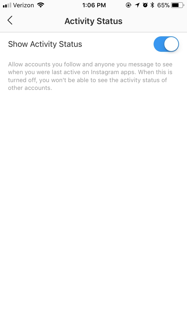 How To Turn Off Activity Status On Instagram So Your Followers Can