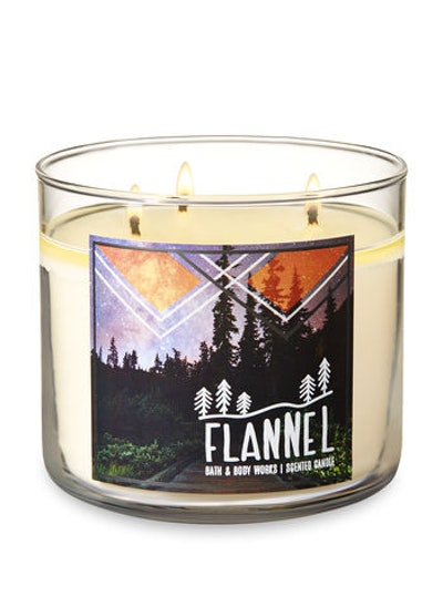 Flannel Candle