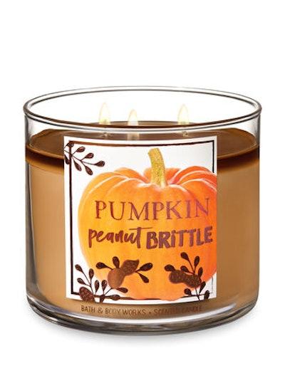 Pumpkin Peanut Brittle