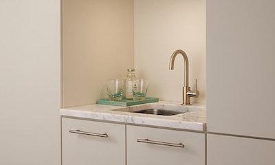 Delta Faucets Trinsic Single Handle Bar Faucet