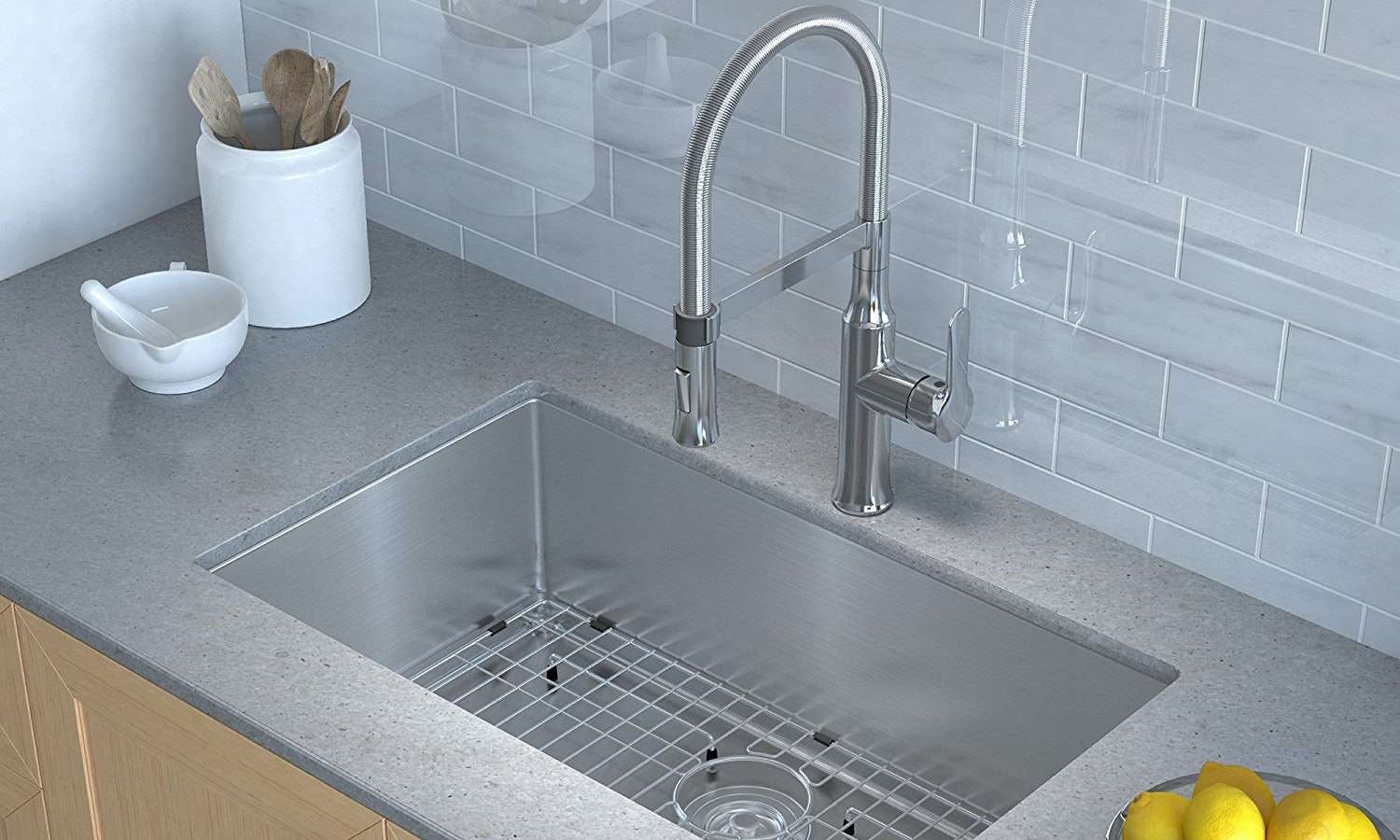 Groovy The 4 Best Kitchen Faucets For Hard Water Download Free Architecture Designs Estepponolmadebymaigaardcom