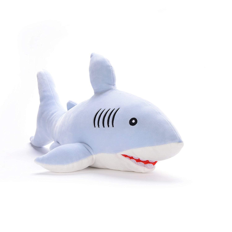 New Discovery Shark Week Shark  Foam Ball Blue
