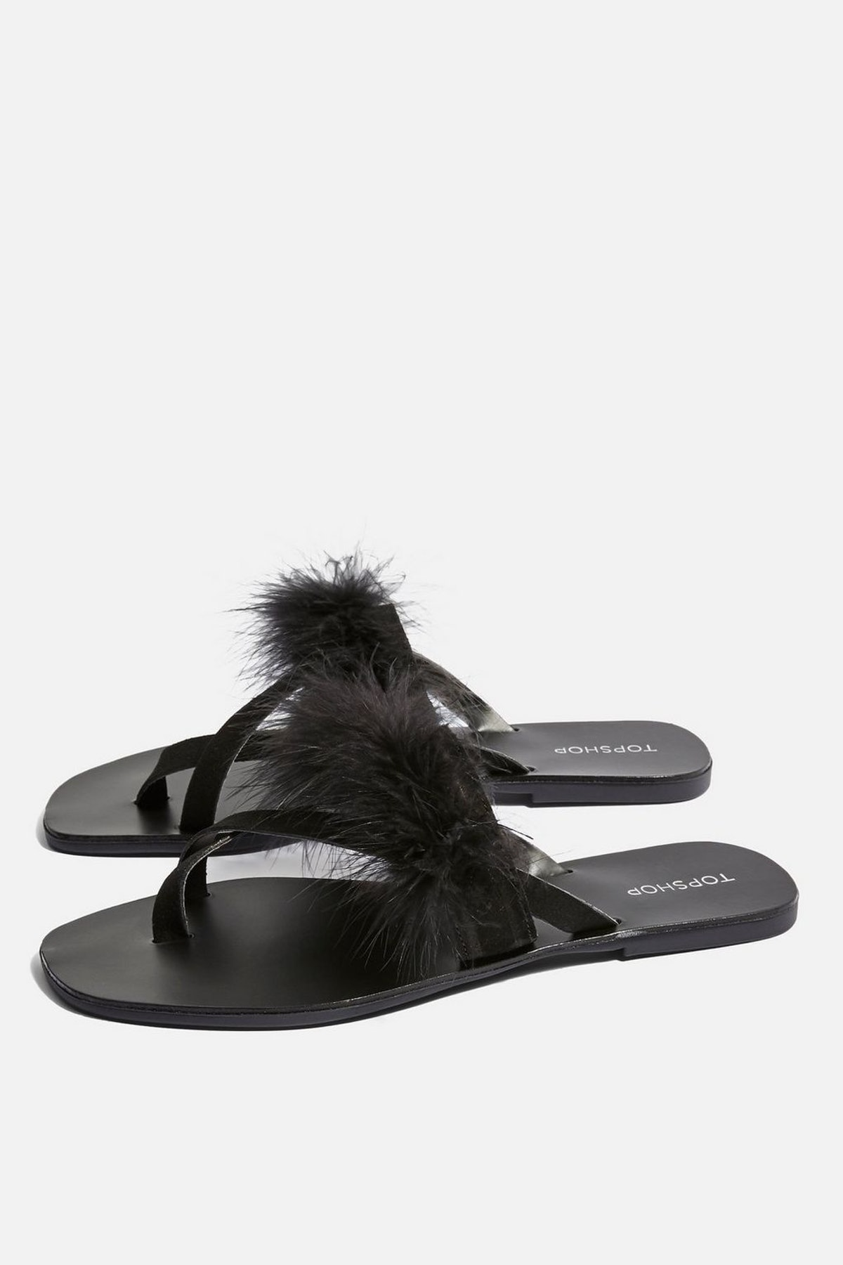 Holly Fluff Sandals