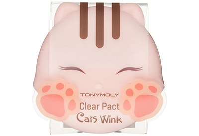 TONYMOLY, Cat Wink Clear Powder Compact
