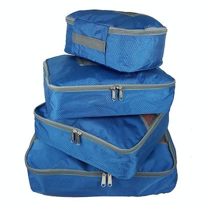 K-Cliffs Travel Packing Cubes 4Pcs Set