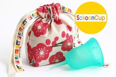 SckoonCup ECOPAC Large Menstrual Cup