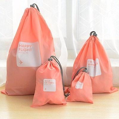 4-Piece Waterproof Storage Bags