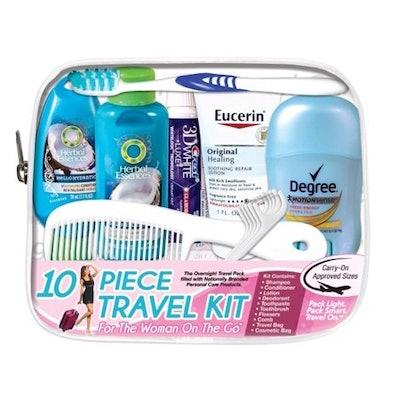 10-Piece Travel Kit