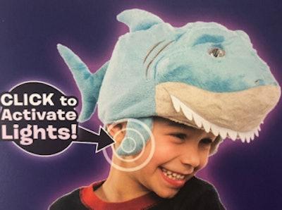 Wearable Shark Headlight