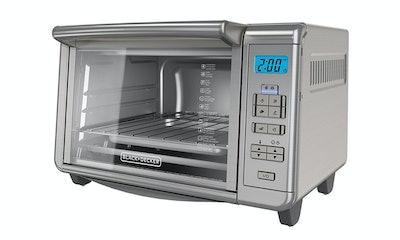 BLACK+DECKER Digital Convection Countertop Toaster Oven