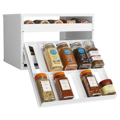 YouCopia Chef's Edition SpiceStack 30-Bottle Spice Organizer with Universal Drawers