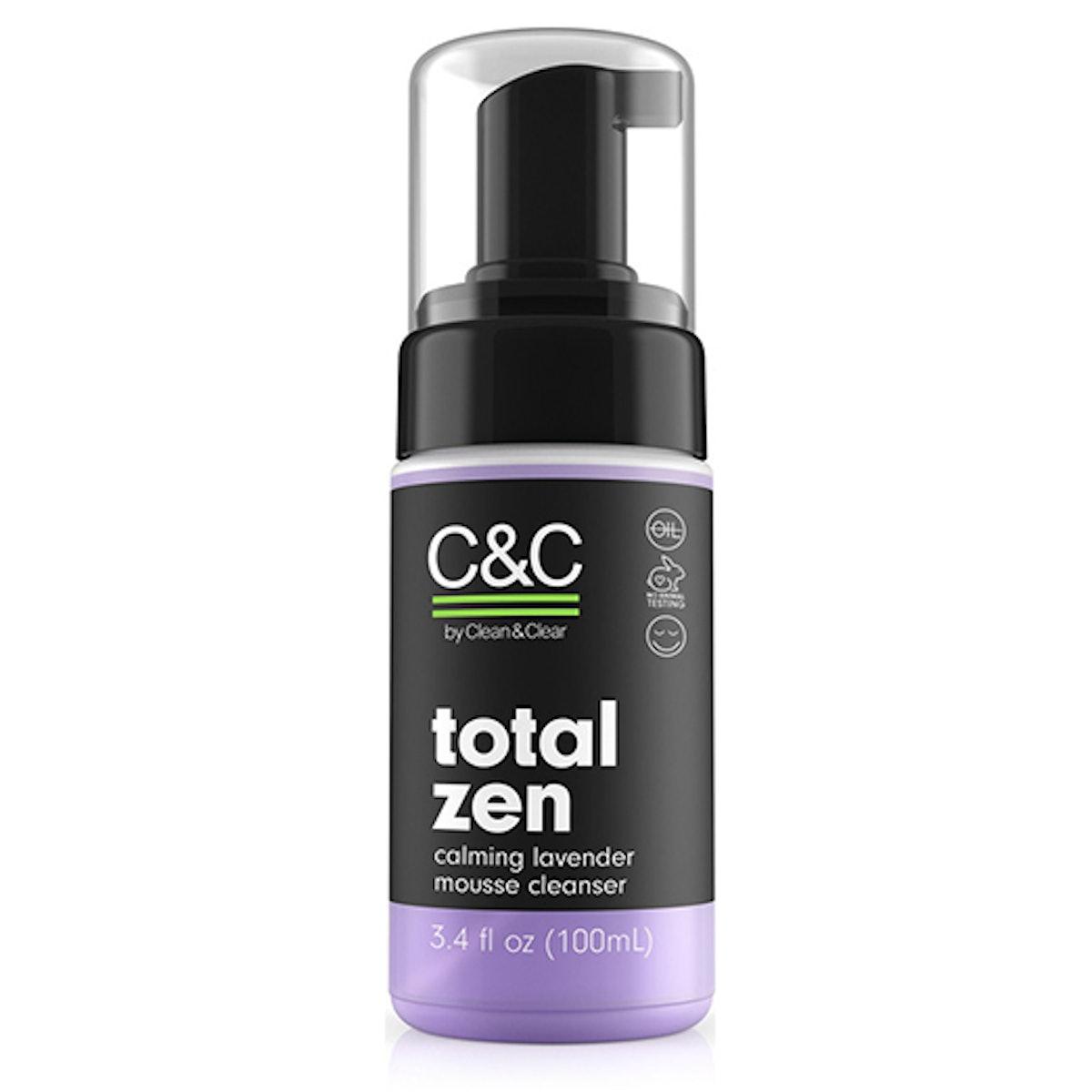 Total Zen Calming Lavender Mousse Cleanser
