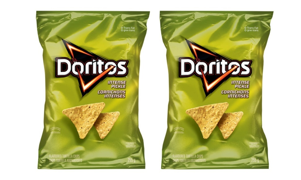 pickle flavored doritos exist but you may have to pay a high price