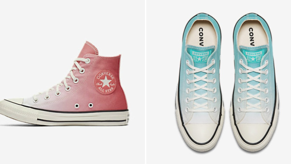 4712fb322248 Converse s Pastel Ombré Chuck Taylors Will Make Your Dreamiest Of Sneaker  Desires Come True