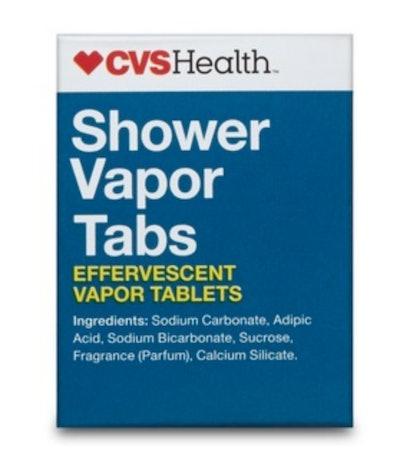 Shower Reliever Effervescent Vapor Tablets