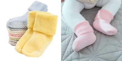 VWU Baby Socks with Grips