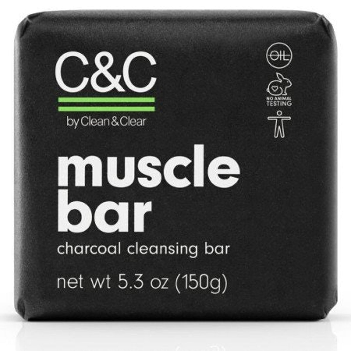 Muscle Bar Charcoal Cleansing Bar