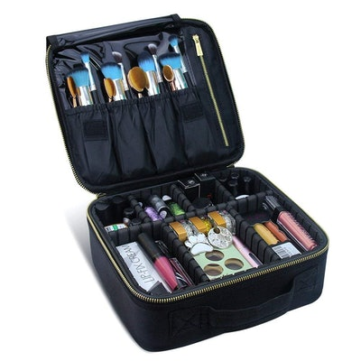 Travel Makeup Case, Samtour-Professional Cosmetic Makeup Bag Organizer, Accessories Case, Tools Case