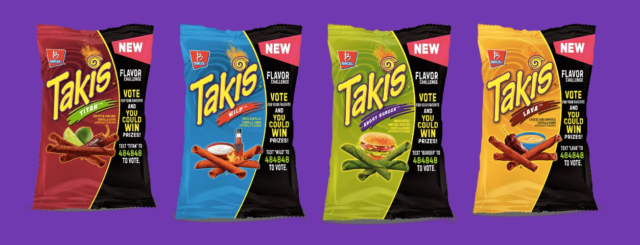 the takis flavor challenge expands with 4 new limited edition