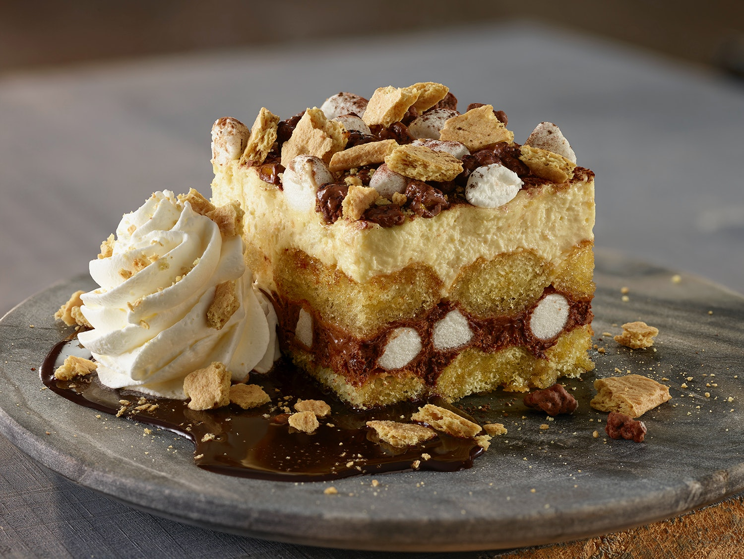 Olive Garden\'s New S\'mores Layer Cake Is A Grownup Take On Your Fave ...