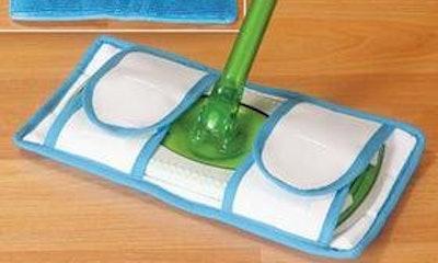 Reusable Microfiber Mop Pads