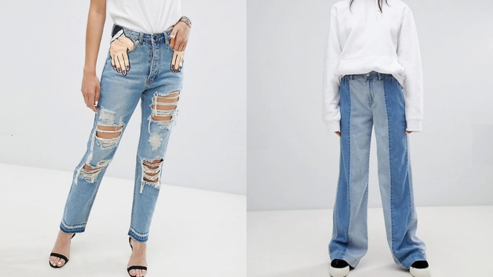 fb88168ad31 8 Of The Weirdest Pairs Of Jeans ASOS Has For Sale Right Now